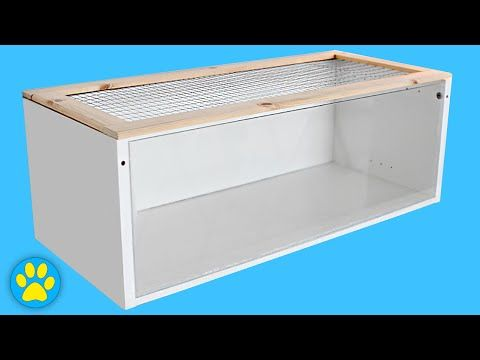 Diy Hamster Cage Ikea Billy Cage Youtube Hamster Diy Cage Hamster Cage Hamster Diy