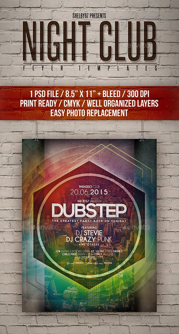 Night Club Flyer Templates Flyer Template Night Club And Template