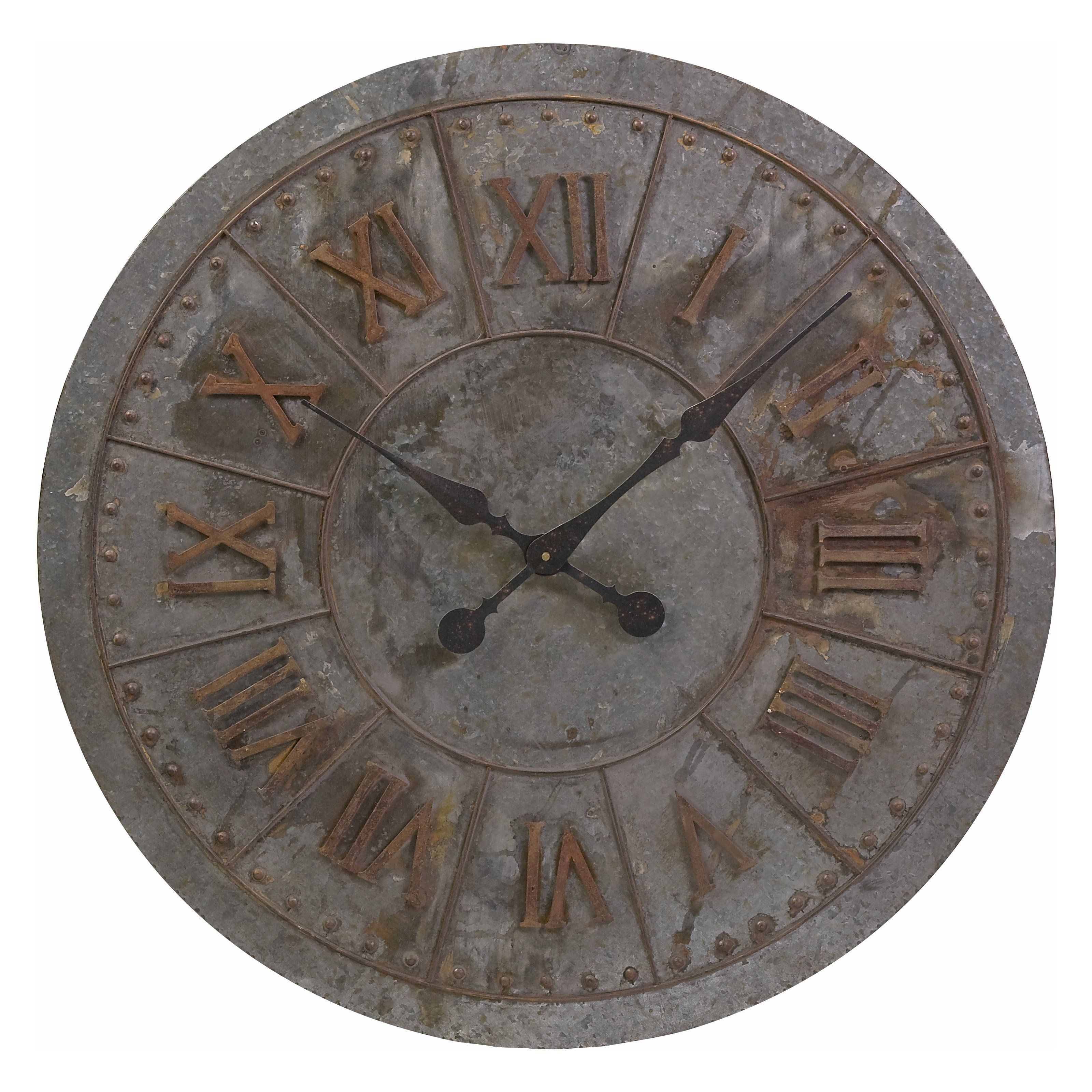 Have To Have It Gilbert Galvanized 32 In Wall Clock