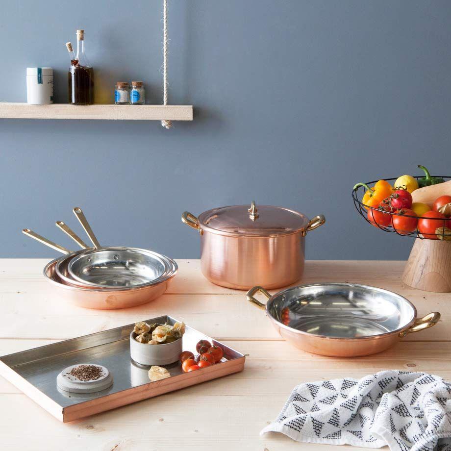 Handgefertigte Küchenhelfer aus Kupfer | Perfekte Küche | Pinterest ...
