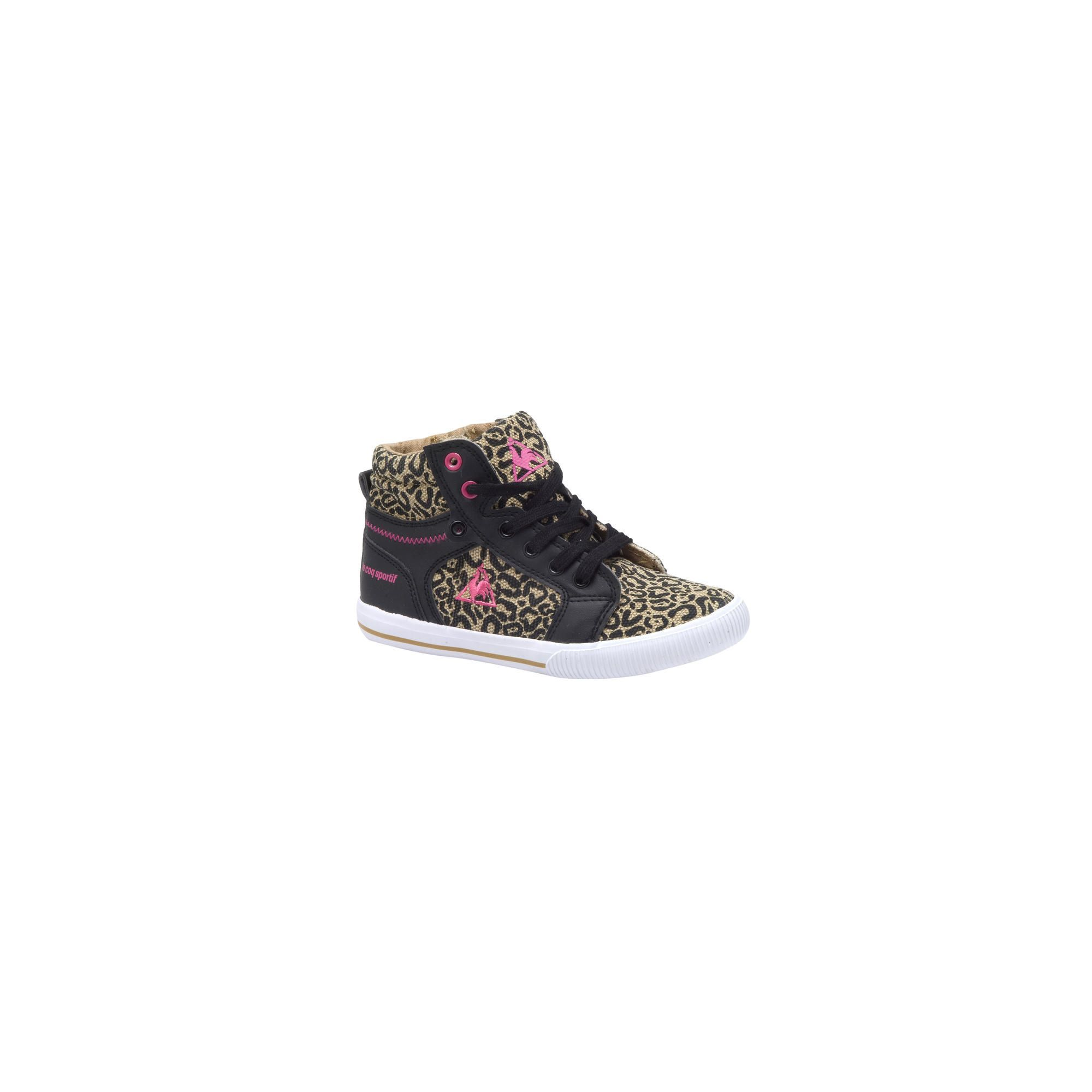 Hippe Le coq sportif shammy mid ps (Bruin/roze) Sneakers van het merk Le coq sportif. Uitgevoerd in brown/pink.