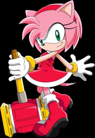Amy Rose Sonic X Como Dibujar A Sonic Personajes De Videojuegos Amy Rose