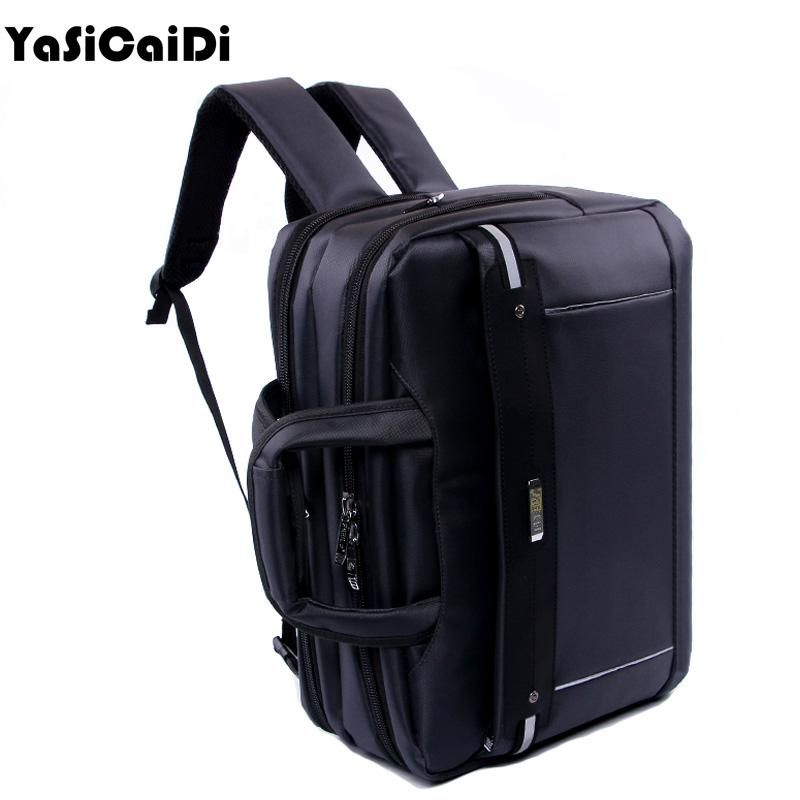 YASICAIDI High Grade Polyester Men Briefcases Light Business Messenger Bag  Men Office Handbag Men Totes Casual 68c10a7ce1784