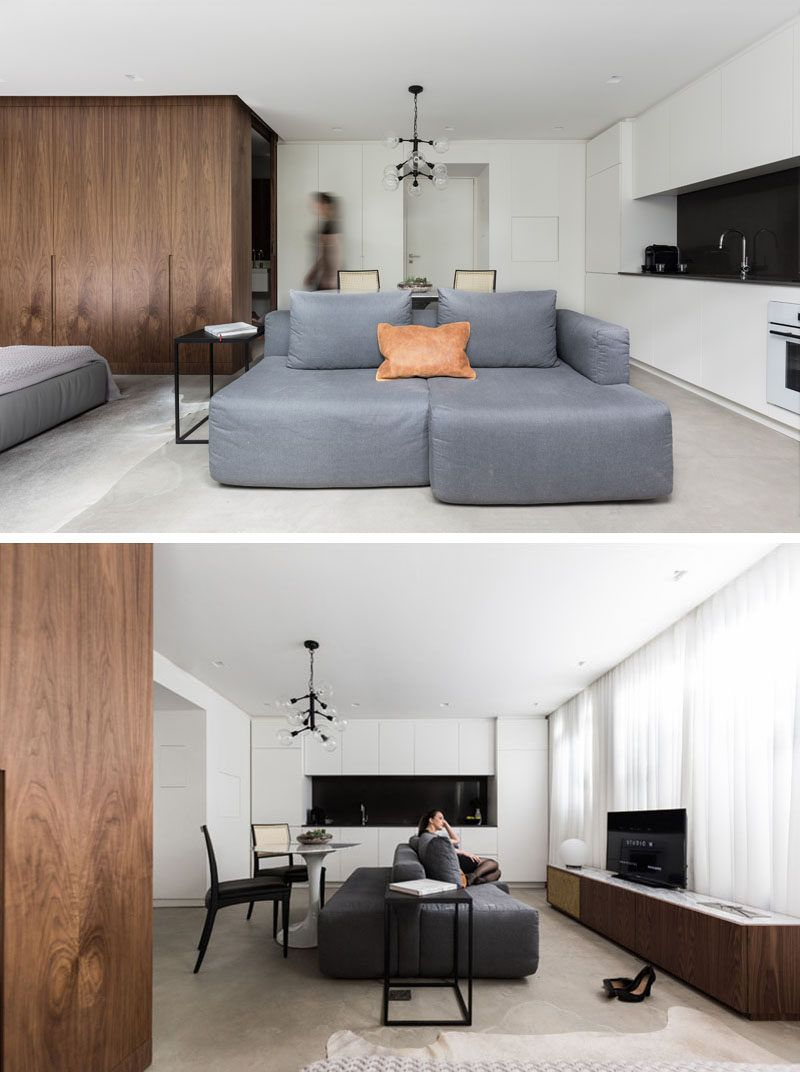 This square foot apartment makes the most of its small layout