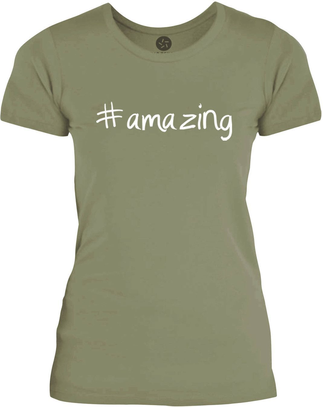 Big Texas Hastag Amazing (White) Womens Fine Jersey T-Shirt