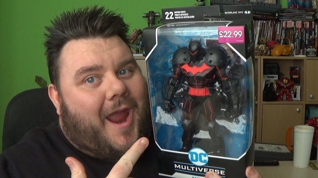 McFarlane Toys DC Multiverse Batman Hellbat Suit Action Figure IN STOCK!!