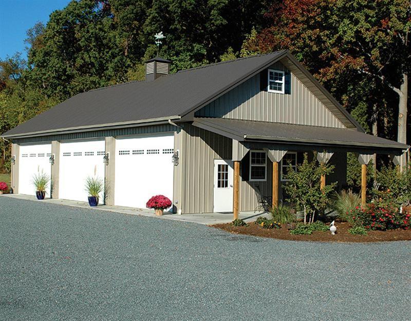 30x60x12 | Metal garage buildings, Metal building homes ...