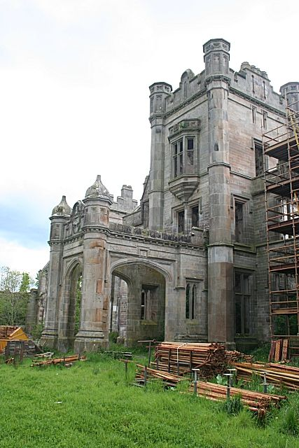 Ury House is a large ruined mansion in Aberdeenshire, Scotland, built in the Elizabethan style in 1885 by Alexander Baird