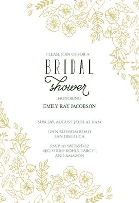 Elegant flowers free printable bridal shower invitation template elegant flowers free bridal shower invitation template greetings island filmwisefo Gallery