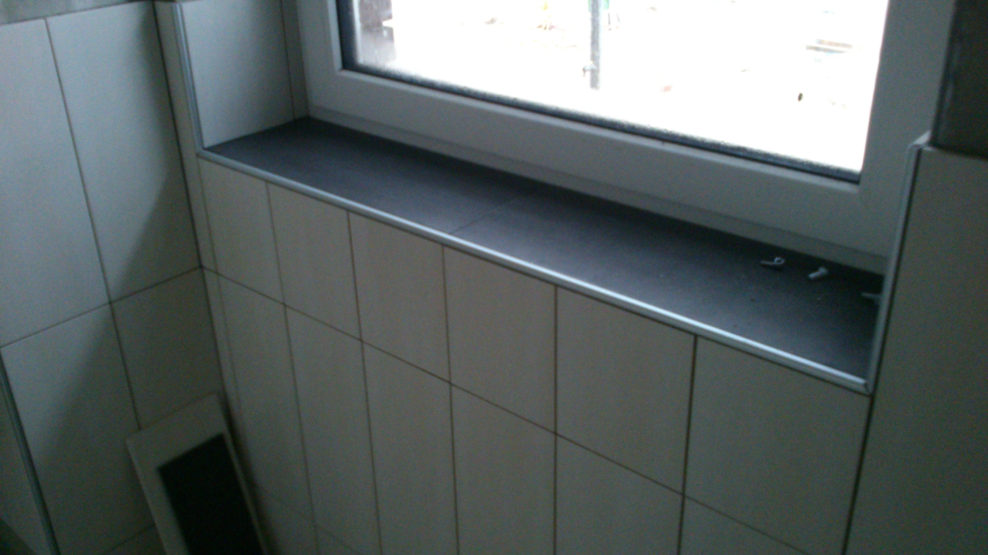 Bodenfliese auf Fensterbank wiederholen   Fensterbänke ...