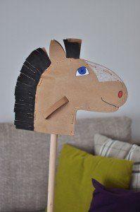 steckenpferd basteln theater material kindergeburtstag. Black Bedroom Furniture Sets. Home Design Ideas