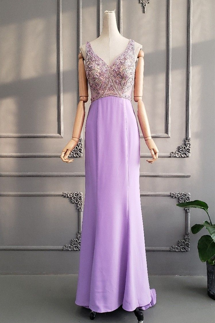 Xcite Beaded Strapless Prom Dress at PromGirl.com