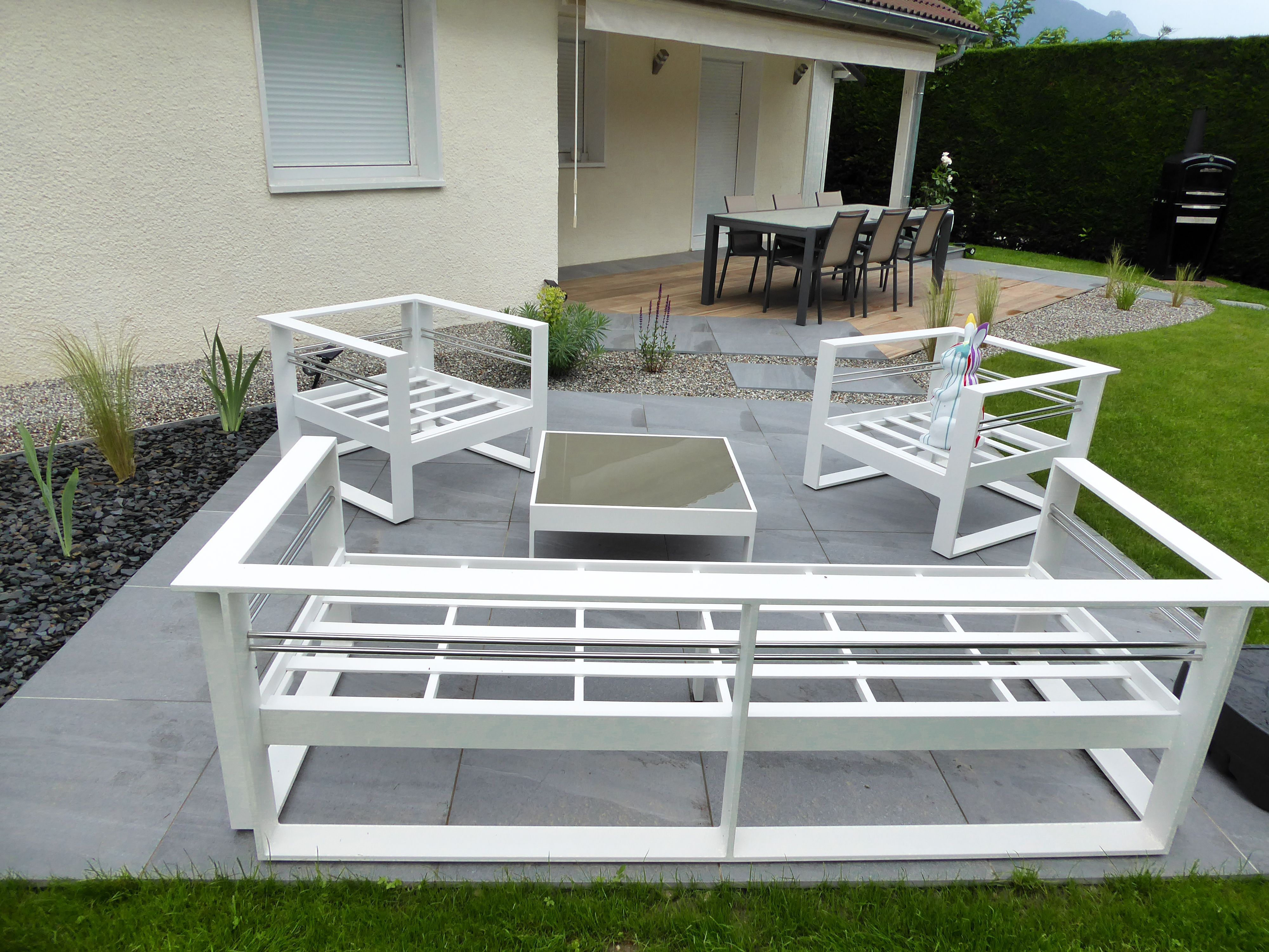 100 Incroyable Idées Salon De Jardin Petit Espace