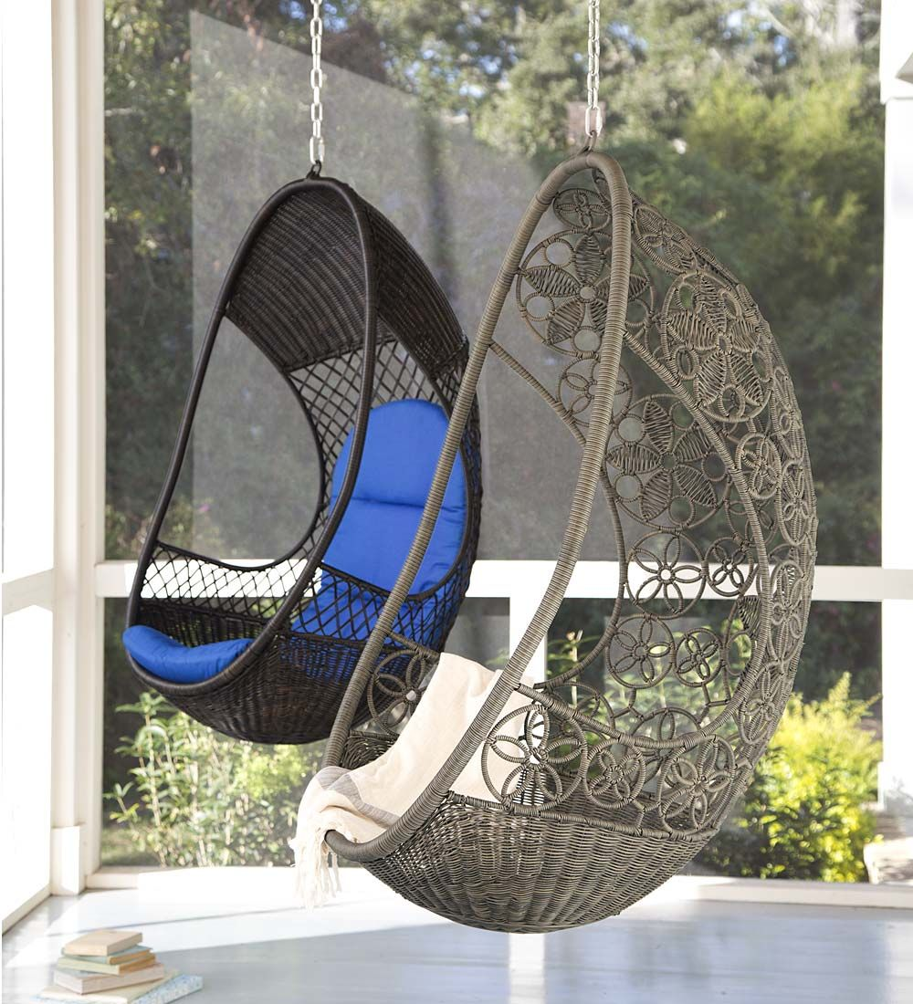 Hanging Pod Chairs Easily Hang This