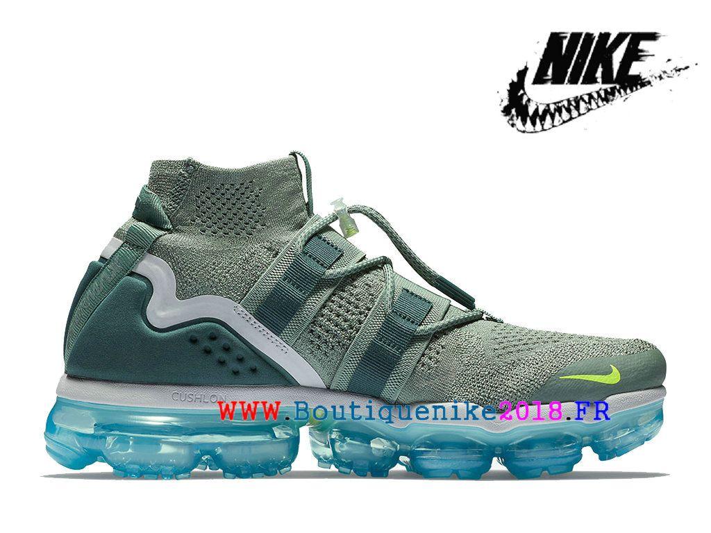 2e86fa1f4a34f Nouveau Chaussures Pas Cher Prix Asphalt Homme Nike-Air-VaporMax-Utility  Bleu   vert clair AH6834-300-Nike Boutique de Chaussure Baskets Site  Officiel ...