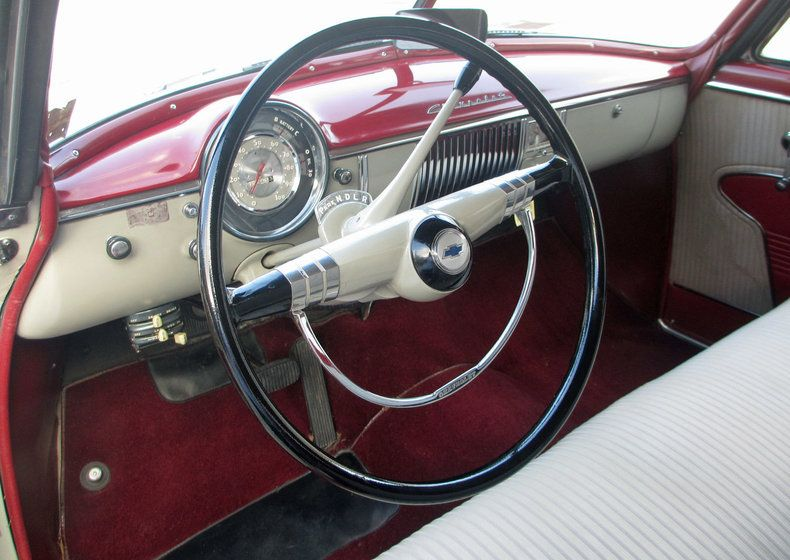 Dashboard Power Glide Shifting Quadrant 1950 Chevrolet Bel Air