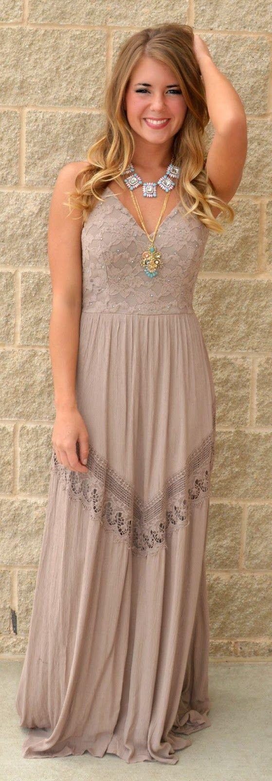 Breez + Destiny + Draped Maxi Dress with Gorgeous ...