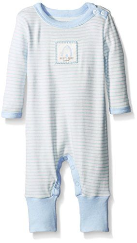 Burt's Bees Baby Baby Organic Stripe Snap Front Coverall…