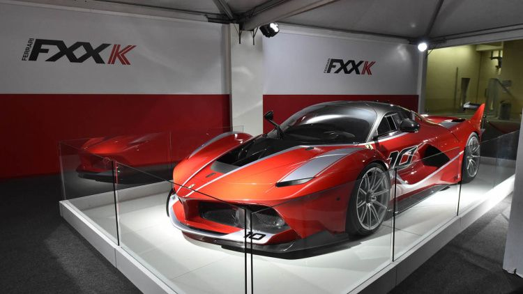Ferrari FXX K could get even more extreme Evoluzione version #ferrarifxx