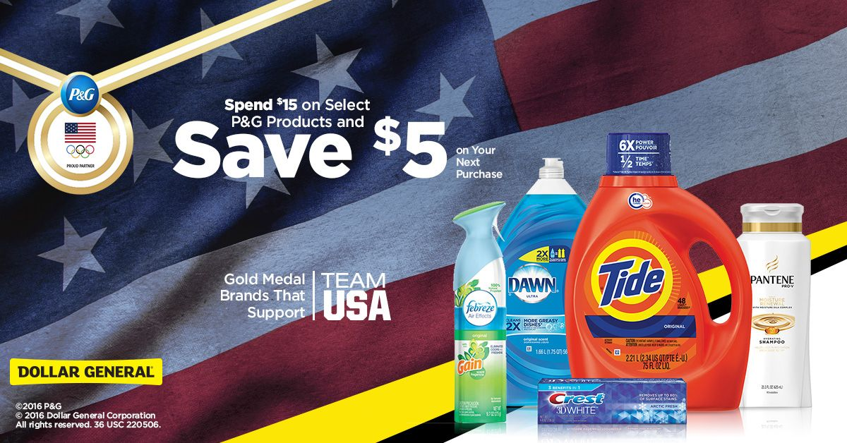 Shop Gold Medal Brands And Save P G Products Dollar General Save