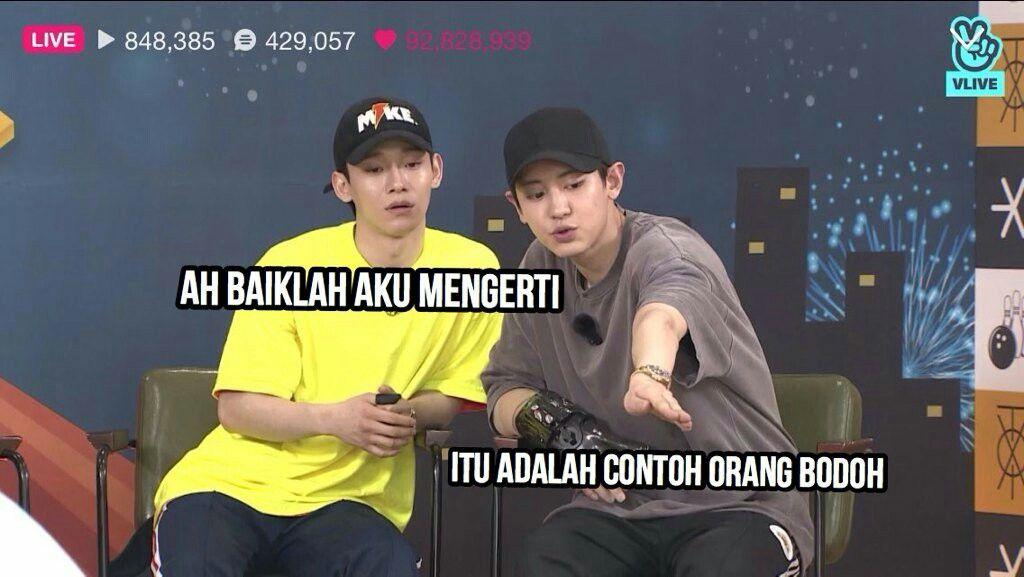 Pin Oleh Tae🐣 Di Kpop Indonesian Memes Di 2019