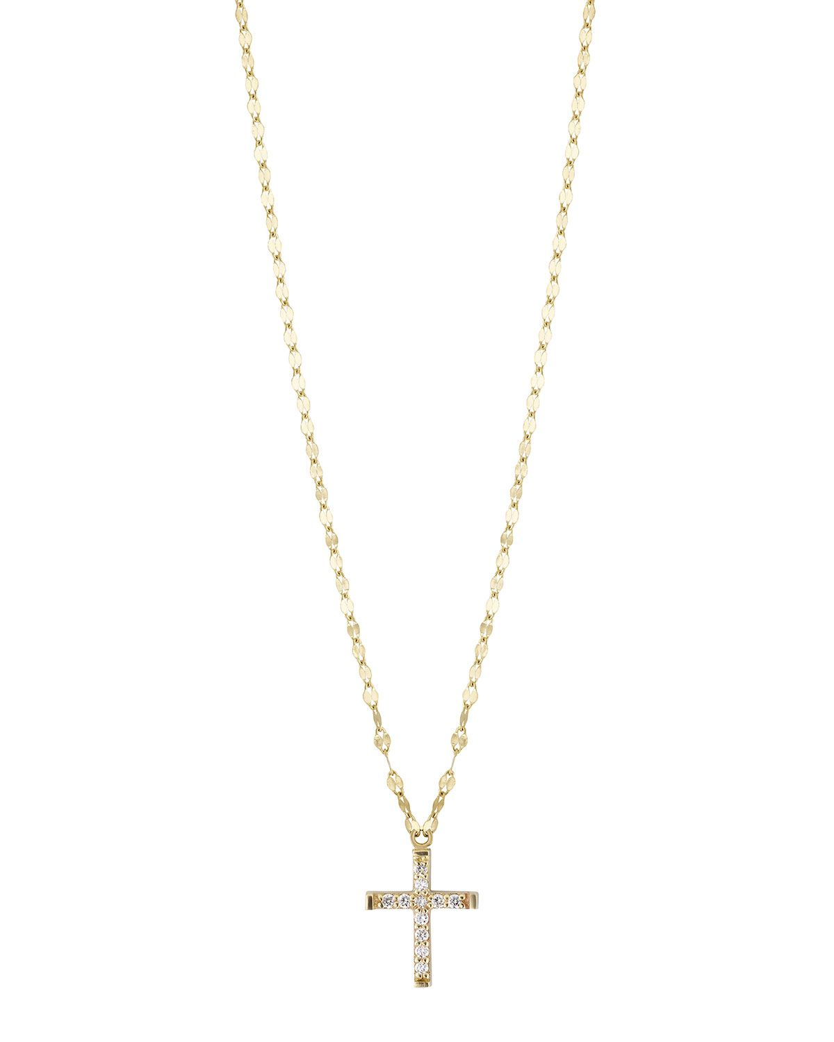 Lana Girl by Lana Jewelry Girls Flat Link Chain Necklace B1arO