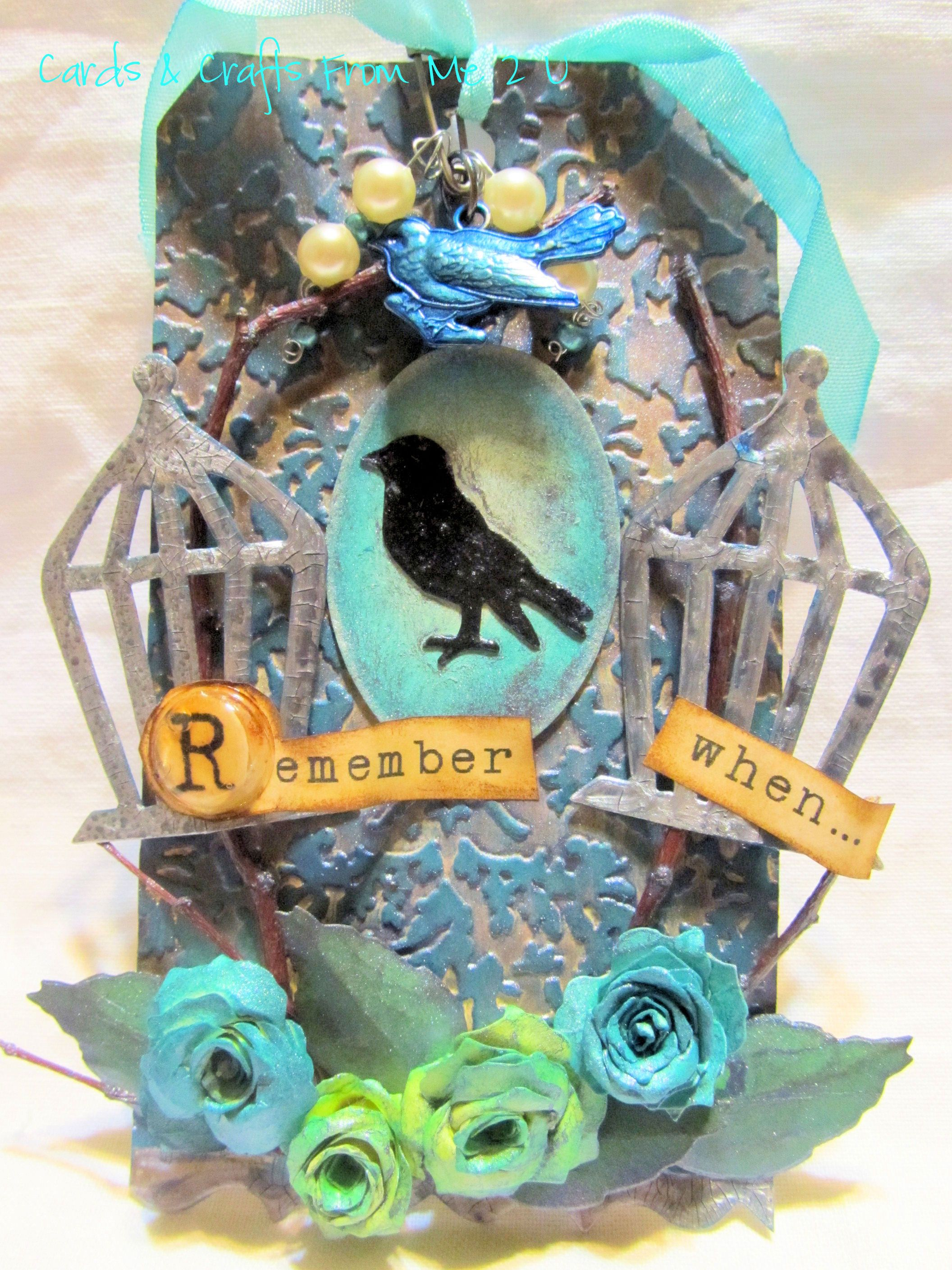 August Tim Holtz's 12 Tags of 2012
