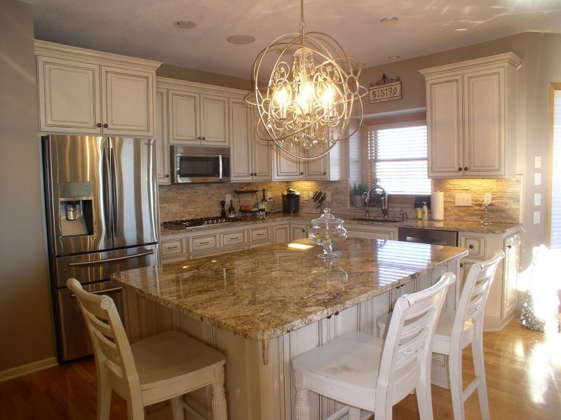 Granite Backsplash 12 White Kitchen Ideas Tan Brown With Rainbow