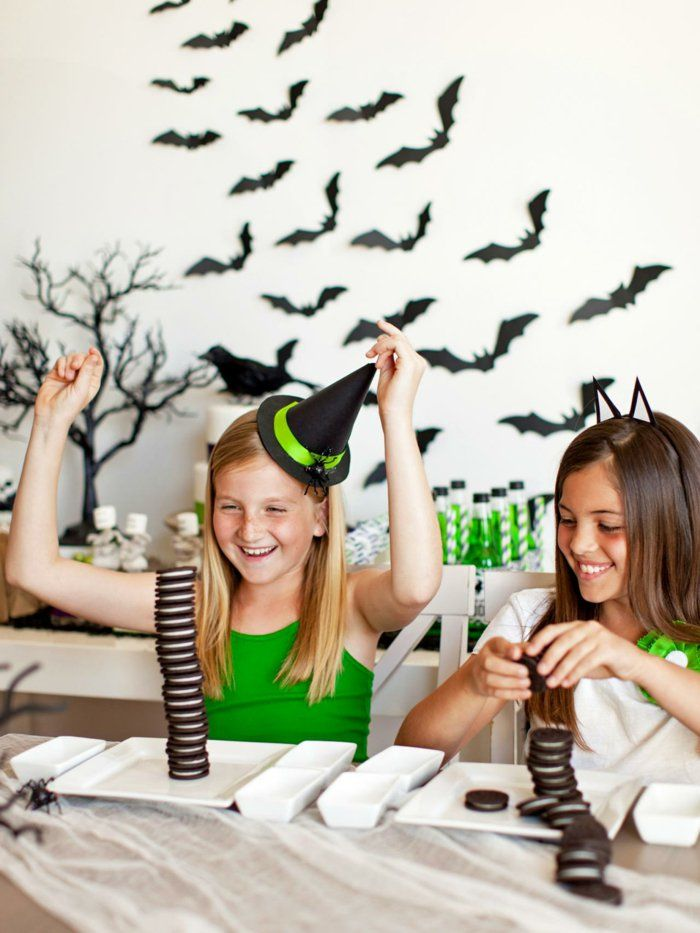 Halloween Party Spiele für ein Kinderfest voller Süßigkeiten ...