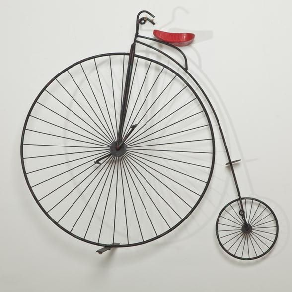 A Curtis Jere Penny Farthing Sculpture USA 1982