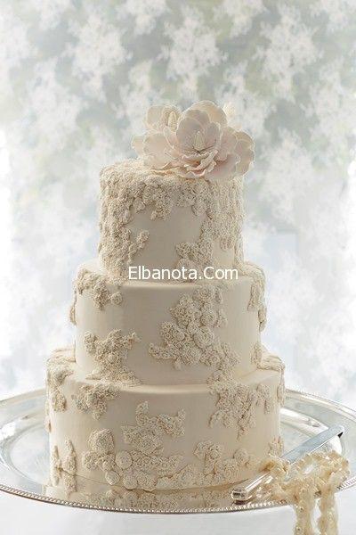 صور تورتة الزفاف كيكات الاعراس والمناسبات كيكات حفل الزفاف ليلة العمر عروس بنوته بن Rustic Wedding Cake Toppers White Wedding Cakes Wedding Cake Toppers