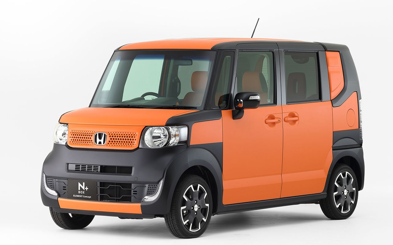 2015 Honda Element - has a box-on-wheels design that suffuses it with a lot  more interior area than versions that use up more parking space.