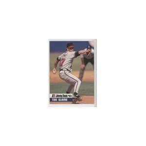 Tom Glavine Atlanta Braves Baseball Card 1993 Jimmy Dean