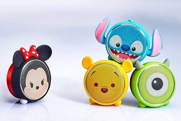 cute wireless speakers mini bluetooth disney tsum portable bluetooth speaker inspired by those cute
