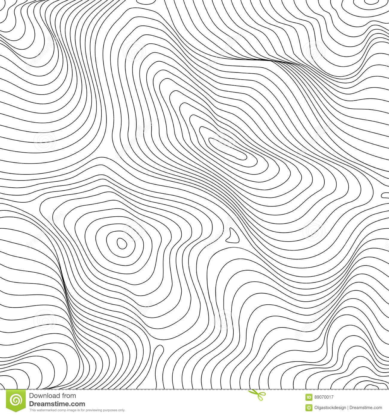 Abstract Dynamical Rippled Surface Vector Monochrome