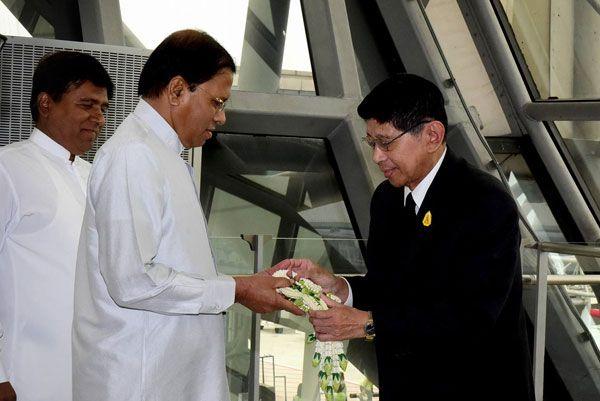 วันที่ 30 ตุลาคม 2559  นายไมตรี ปาละ สิริเสนา ประธานาธิบดีแห่งสาธารณรัฐสังคมนิยมประชาธิปไตยศรีลังกา เดินทางมาเยือนไทย โดยมี นายวิษณุ  เครืองาม รองนายกรัฐมนตรี ให้การต้อนรับ