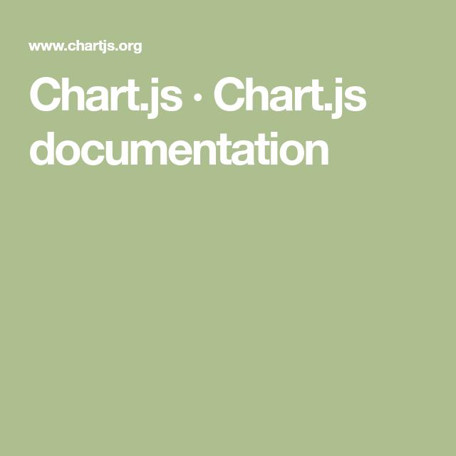 Chart Js Doentation