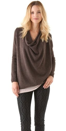 slouchy sweater. get it on sale with code BIGEVENT12 @shopbop