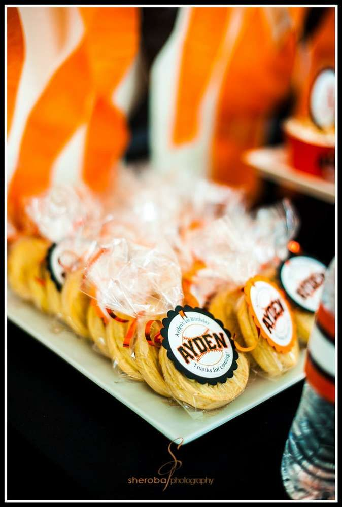 SF Giants Theme Party Birthday Ideas