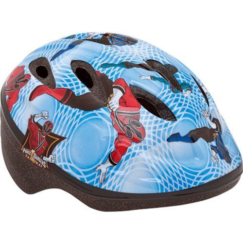 Bell Power Rangers Toddler Bike Helmet (Blue) by Bell. $24.99. True Fit - one simple adjustment for a correct fit every time. Extended rear coverage for added protection. High impact reflectors improve visibility. PinchGuard buckle to eliminate pinching. Power Rangers add style and attitude!