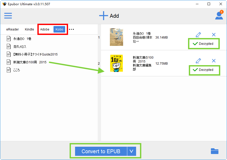 A Complete Guide To Convert Kobo To Epub Pdf Kindle Kobo Kobo Books Kindle