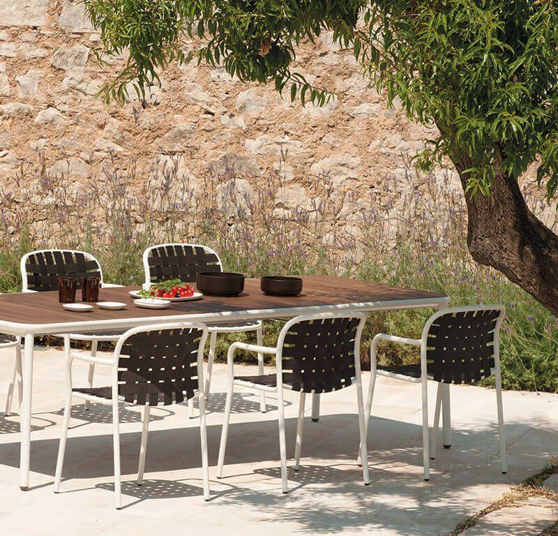 Emu Piano Tavolo Allungabile.Tavolo Allungabile Con Piano In Alluminio Tavolo Giardino