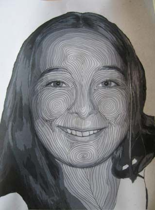 how to quilt a face | Quilts For All | Pinterest | Face, Portraits ... : face quilts - Adamdwight.com