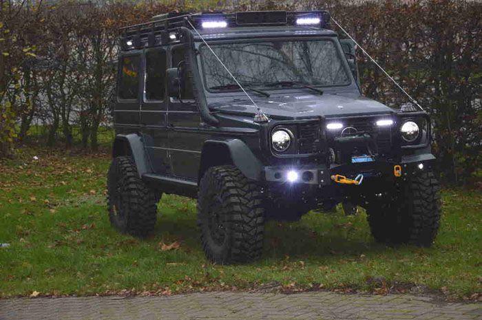Off Road Accessories: Mercedes G Wagen Off Road Accessories