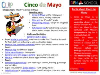 Cinco de Mayo - Lesson Plans & Games for Kids