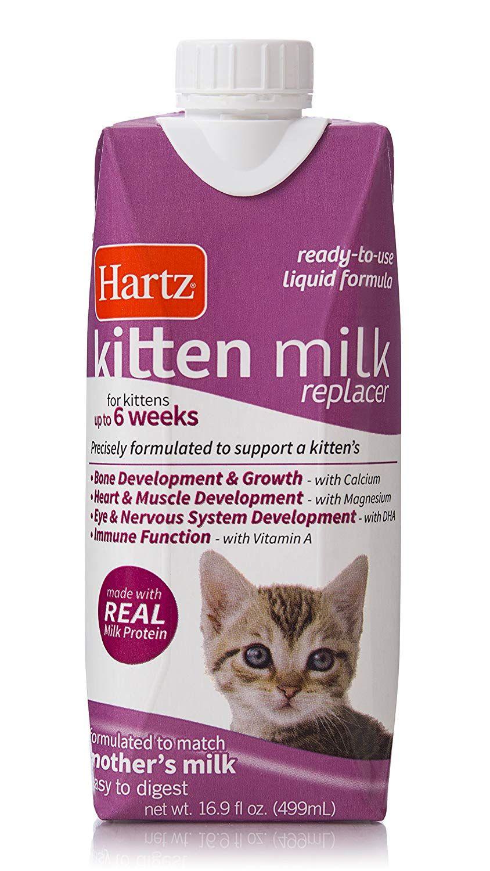 HARTZ Liquid Kitten Milk Replacer Formula 16.9oz *** We