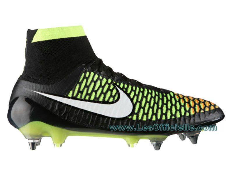 nike magista opus fg firm ground soccer shoes black volt hyper cocktail blanc white