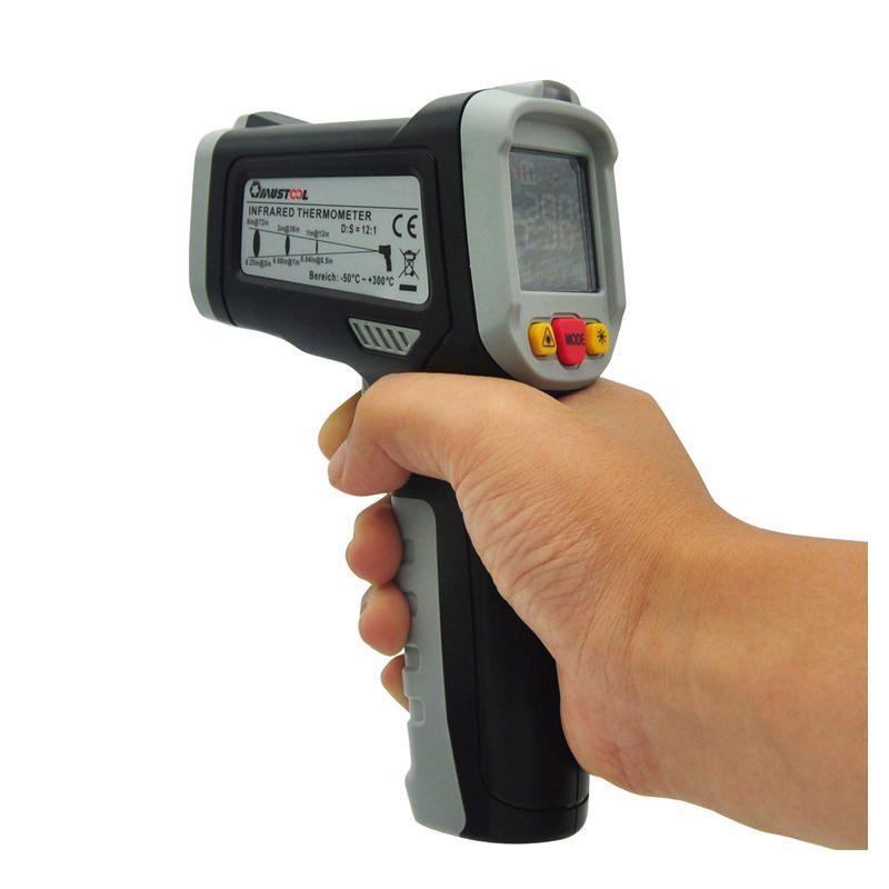 Us 38 09 Mustool Mt6800 50 800 Cifrovoj Cvetnoj Zhk Displej Beskontaktnyj Infrakrasnyj Lazernyj Te Infrared Thermometer Infrared Thermometer Temperature