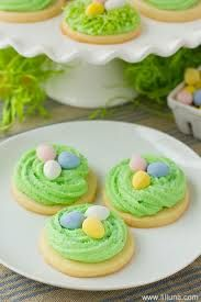 Image result for NEST WITH EASTER EGGS COOKIE DECORATION