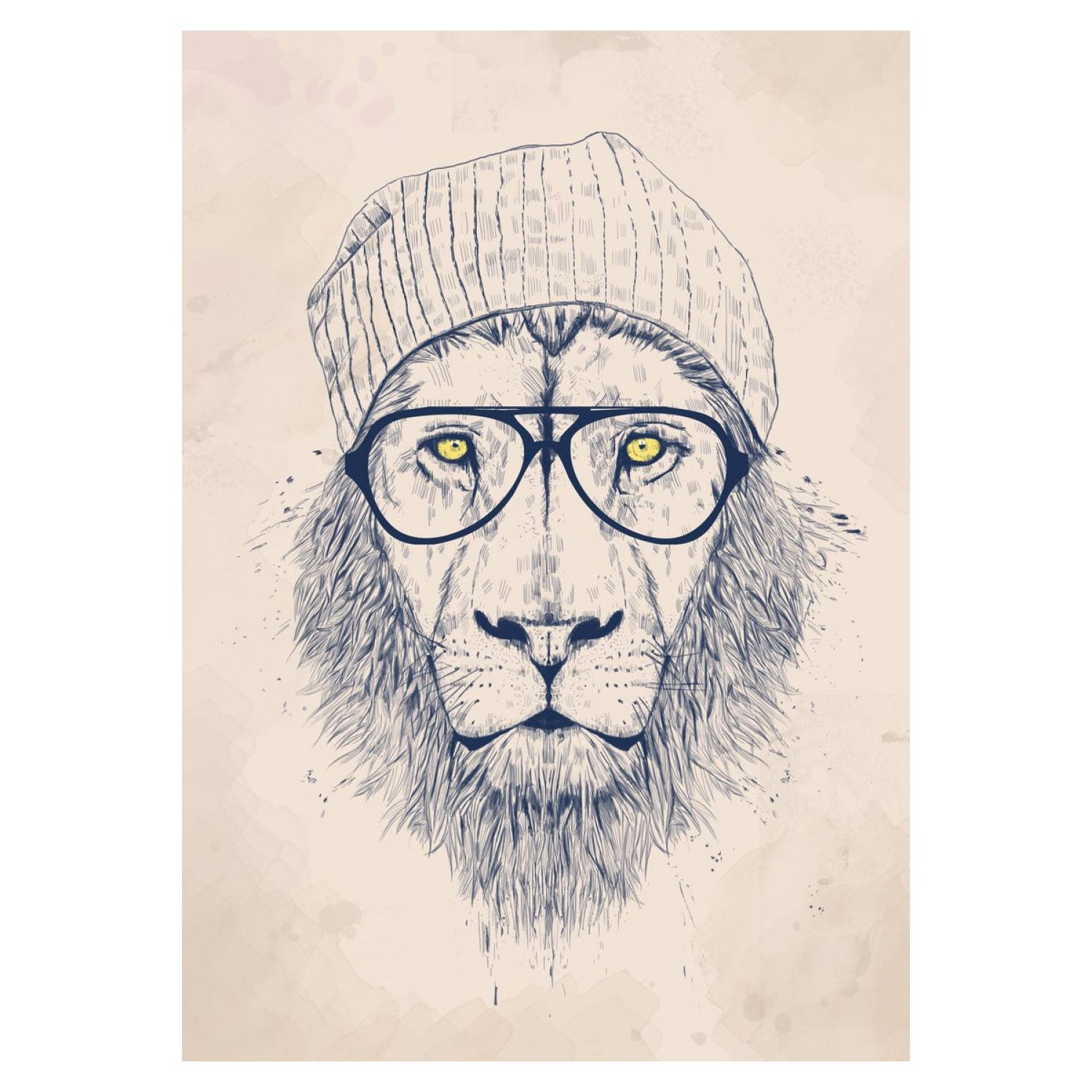 cool lion art print - Cool Pictures To Print